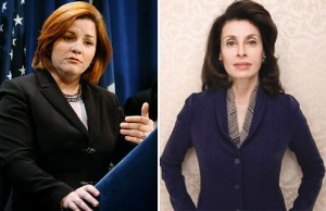 From left: Christine Quinn and Mary Ann Tighe