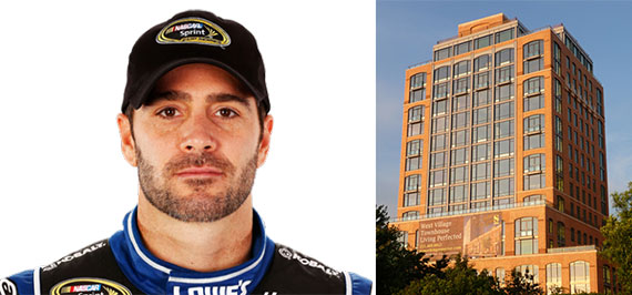 Jimmie Johnson and Superior Ink