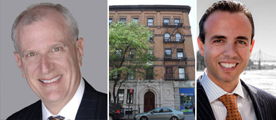 From left: Frederick Peters, 451 Columbus Avenue (Credit: PropertyShark) and Jason Haber