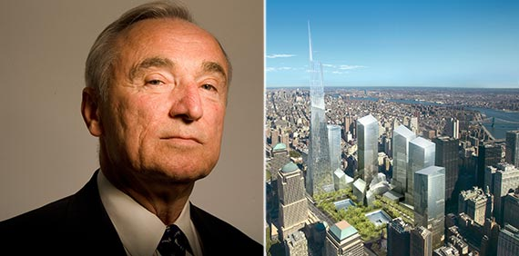 From left: NYPD Commissioner Bill Bratton