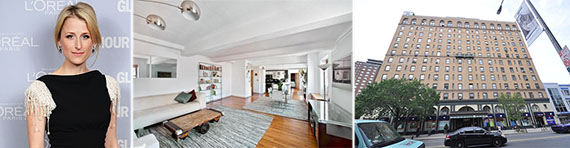 From left: Mamie Gummer and 315 West 23rd Street