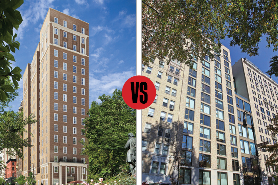18 Gramercy Park vs. 50 Gramercy Park North