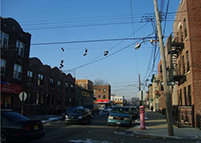 Franklin Avenue in East New York