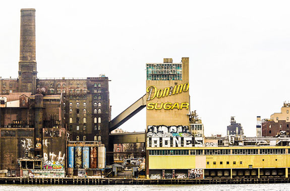 The Domino Sugar factory's iconic sign is not long for this world.