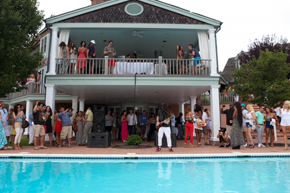 Stadiumred party space in Sag Harbor