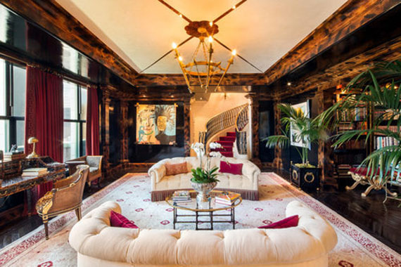 Tommy Hilfiger's duplex penthouse at the Plaza