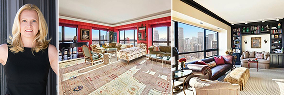 From left: Adrienne Wender and 415 East 54th Street