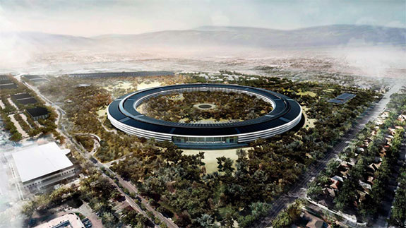 Apple's newly proposed Silicon Valley Campus