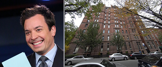 From left: Jimmy Fallon and 34 Gramercy Park East