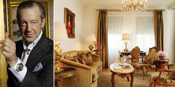 Angelo Galasso and the Plaza Hotel's Edwardian room