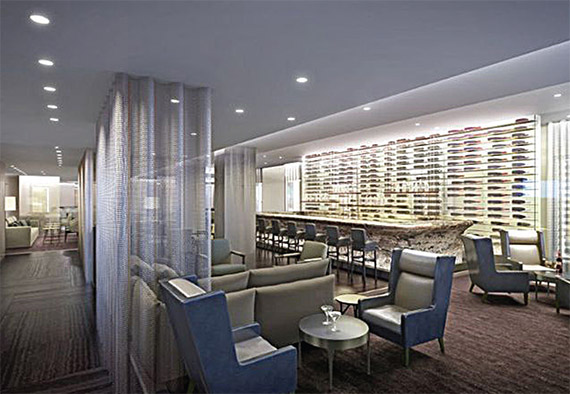 A rendering of what the hotel's modern interior will look like