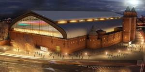 Kingsbridge Armory in the Bronx