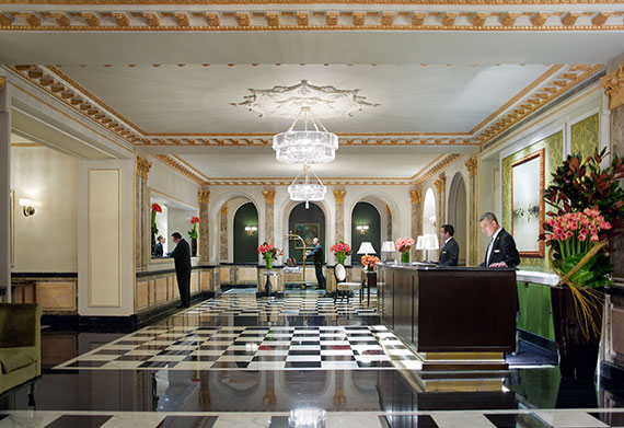Lobby of the Pierre Hotel