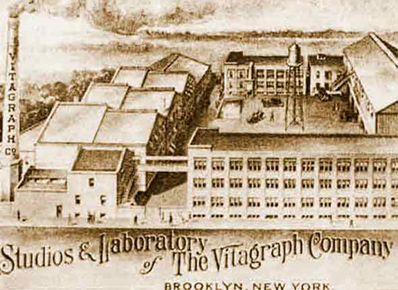Vitagraph Studios in Midwood, Brooklyn was America's most prolific film production company in 1907.