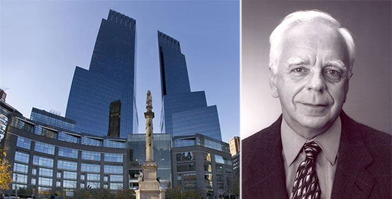 From left: 80 Columbus Circle and Robert Stiller