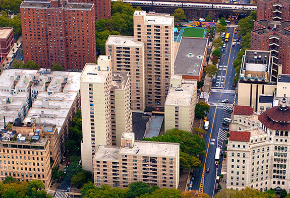 Lakeview Apartments in East Harlem