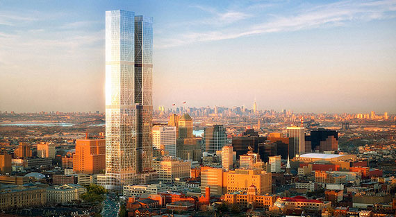 Rendering for RBH Group's project in Newark, N.J.