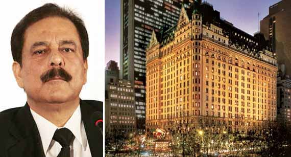 Subrata Roy and The Plaza Hotel