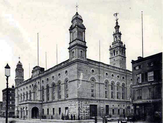 The old Madison Square Garden (1890)