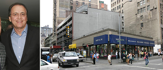 From left: Paul Kanavos and 1185 Broadway