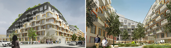 Renderings of 10 Montieth Street (credit: ODA Architecture)