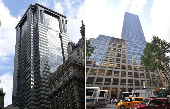 60 Wall Street and 452 Fifth Avenue