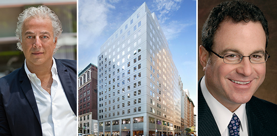Aby Rosen, 350 Madison Avenue and Mitch Konsker