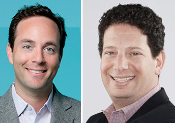 Zillow CEO Spencer Rascoff and Trulia president Paul Levine