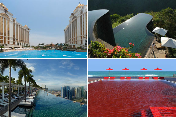 Crazy pools from around the world