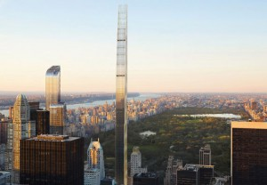 A rendering of 111 West 57th Street