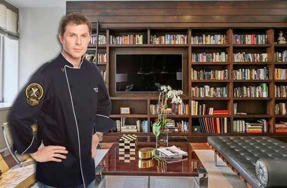 Bobby Flay and his duplex apartment at the Chelsea Mechantilile building