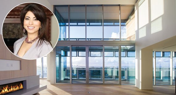 Poonam Khubani listed her penthouse at the swanky Miami Beach Edition for $27.5 million in September - See more at: https://therealdeal.com/miami/issues_articles/south-florida-stargazing/#sthash.g15gcWMv.dpuf