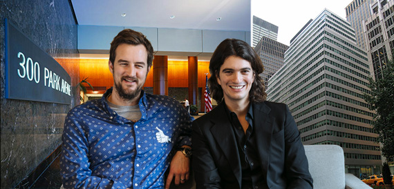 WeWork's Miguel McKelvey and Adam Neumann and 300 Park Avenue