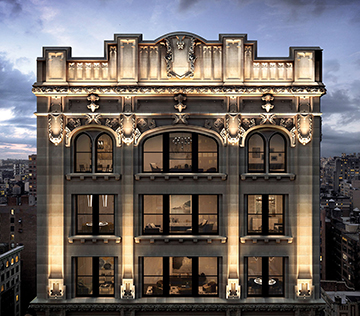 Rendering of 212 Fifth Avenue