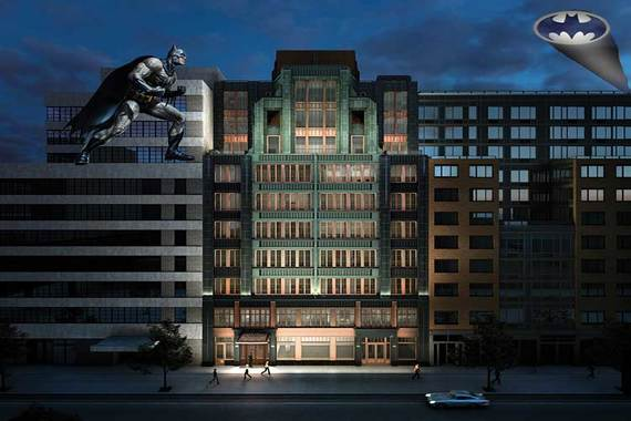 The Fitzroy at 514 West 24th Street in Chelsea.