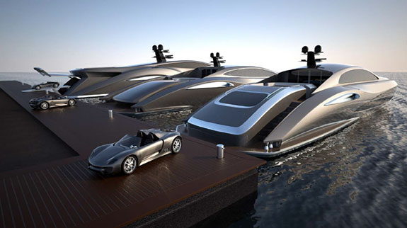 Yachts by