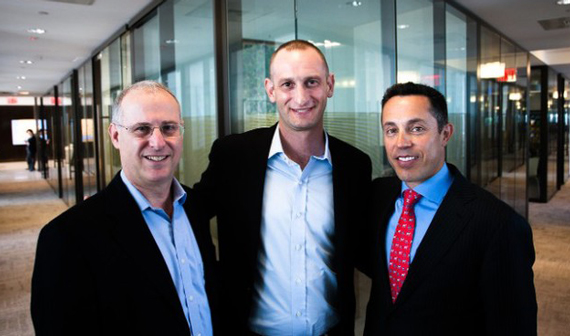 From left: SilverTech partners Charlie Federman, Lawrence Wagenberg and Tal Kerret