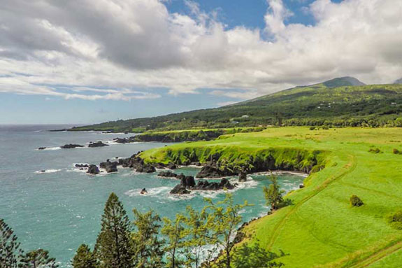 The ranch property in Maui