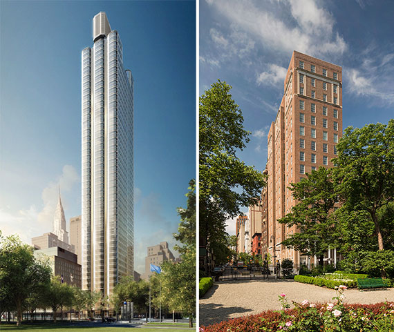 50 United Nations Plaza and 18 Gramercy Park South