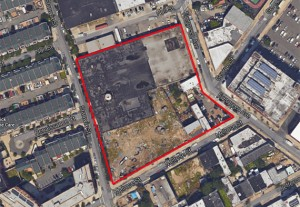 All Year Management's former Rheingold Brewery site assemblage in Bushwick (credit: Google Maps)