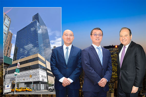 "One MiMA Tower, Shang Dai, Zengliang ""Denis"" Shan and Myles Horn"