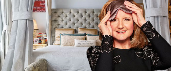 Arianna Huffington and her Soho apartment