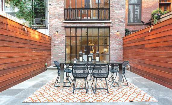 A townhouse at 41 Charles Street that Leslie J. Garfi eld is marketing for $15.9 million
