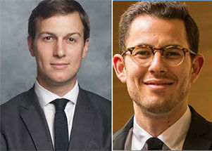 From left: Jared Kushner and Asher Abehsera