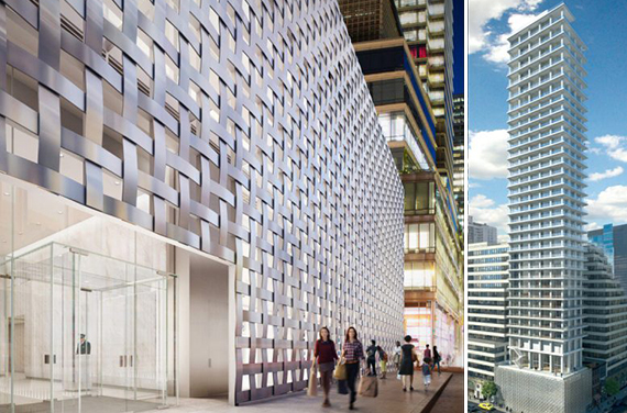 Renderings of 200 East 59th Street (credit: Yimby)
