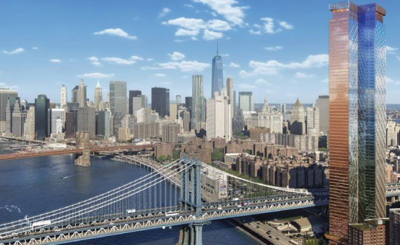Rendering of One Manhattan Square
