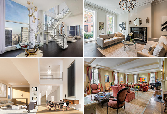Olshan Baccarat penthouse 20 West 53rd Street, 27 East 11th Street, 145 Central Park West, 347 Bowery