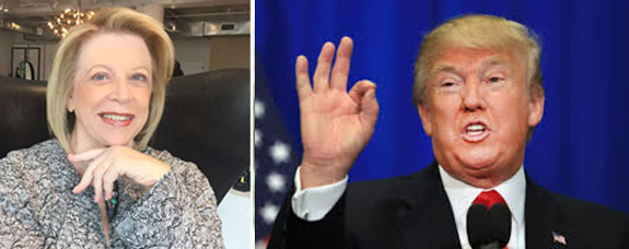Louise Sunshine and Donald Trump
