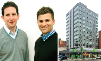 Benchmark's Jordan Vogel, Aaron Feldman and 200 East 11th Street