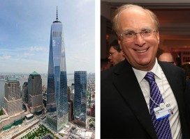 One World Trade Center and BlackRock's Larry Fink